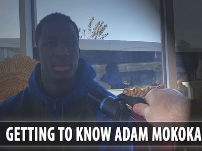 Getting to Know: Adam Mokoka