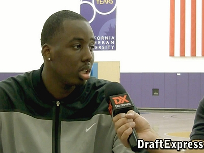 Al-Farouq Aminu Pre-Draft Interview & Workout Footage