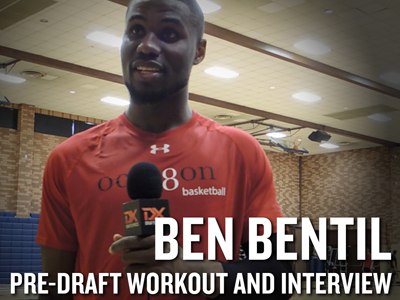 Ben Bentil NBA Pro Day Workout and Interview
