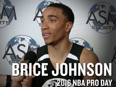 Brice Johnson Interview and Highlights from ASM Sports Pro Day