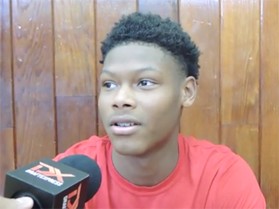 Cameron Reddish Big Strick Classic Interview