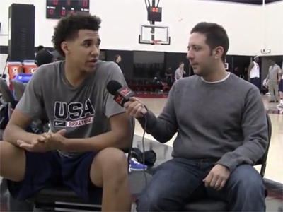 2015 Nike Hoop Summit Video Interview: Chase Jeter