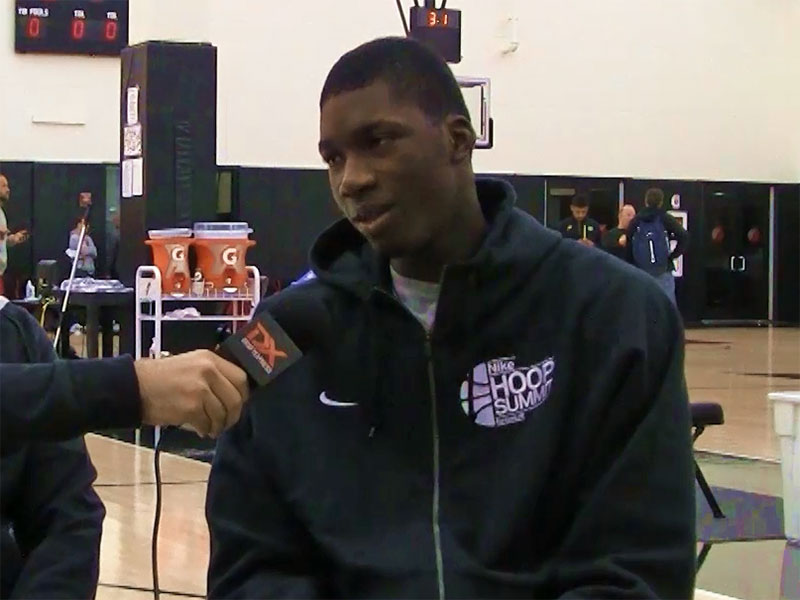 2015 Nike Hoop Summit Video Interview: Cheick Diallo
