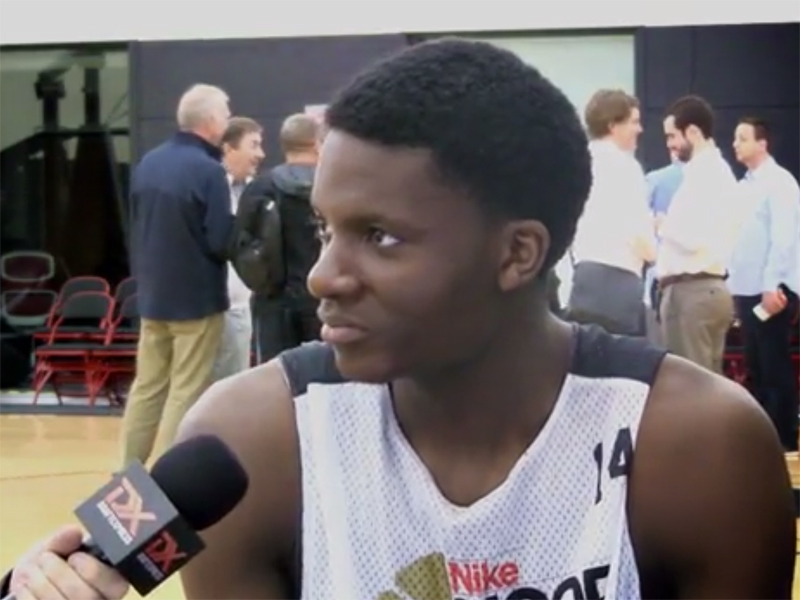 2014 Nike Hoop Summit Video Interviews: Clint Capela, Nikola Jokic
