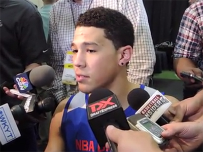 Devin Booker Interview