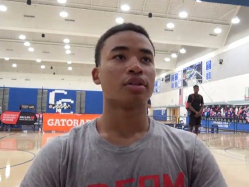 Pangos All-American Camp Interviews: Dotson, Mann, Moody