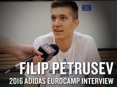 Filip Petrusev 2016 Adidas Eurocamp Interview and Highlights