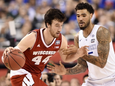 Frank Kaminsky vs Karl Towns and Willie Cauley-Stein Video Analysis