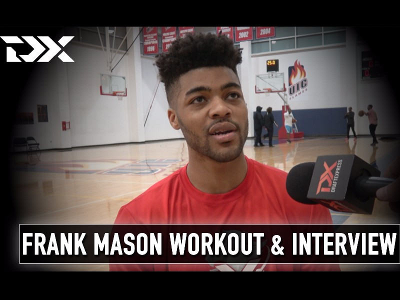 Frank Mason NBA Pre-Draft Workout and Interview