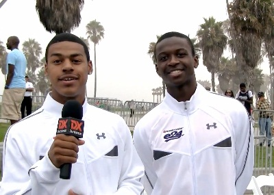 2010 Boost Mobile Elite 24: Quinn Cook Interviews Myck Kabongo
