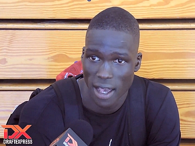 Thon Maker and DeAndre Ayton Video Interviews