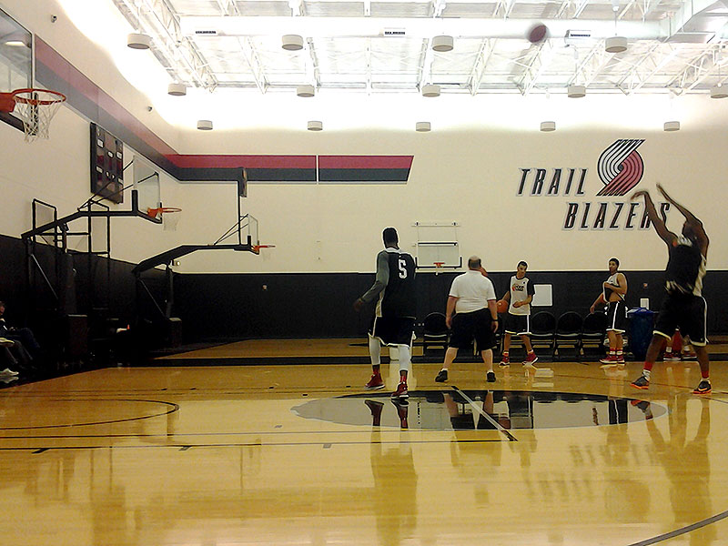 2014 Nike Hoop Summit: International Practice Day One