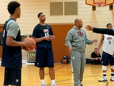 2014 Nike Hoop Summit: USA Practice Day One