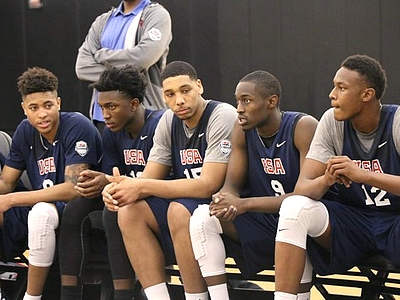 2014 Nike Hoop Summit: USA Practice Day Two