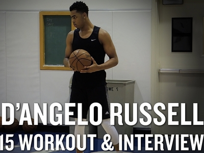 D'Angelo Russell Workout Video and Interview