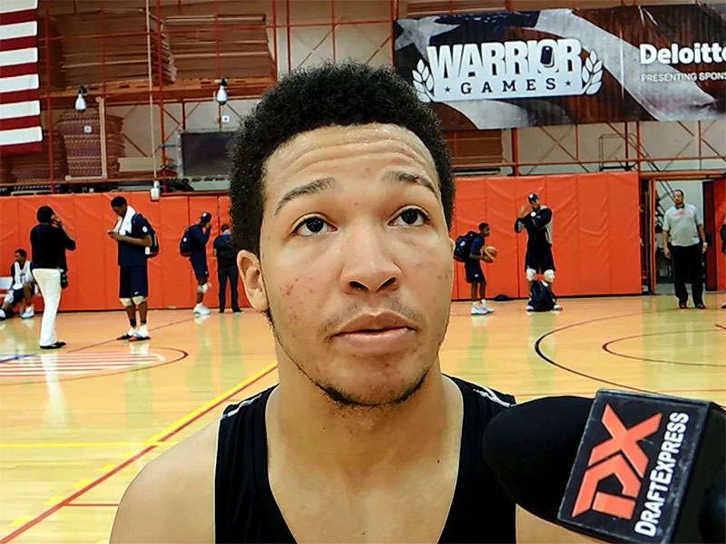 2014 USA Basketball Development Camp Interview: Jalen Brunson