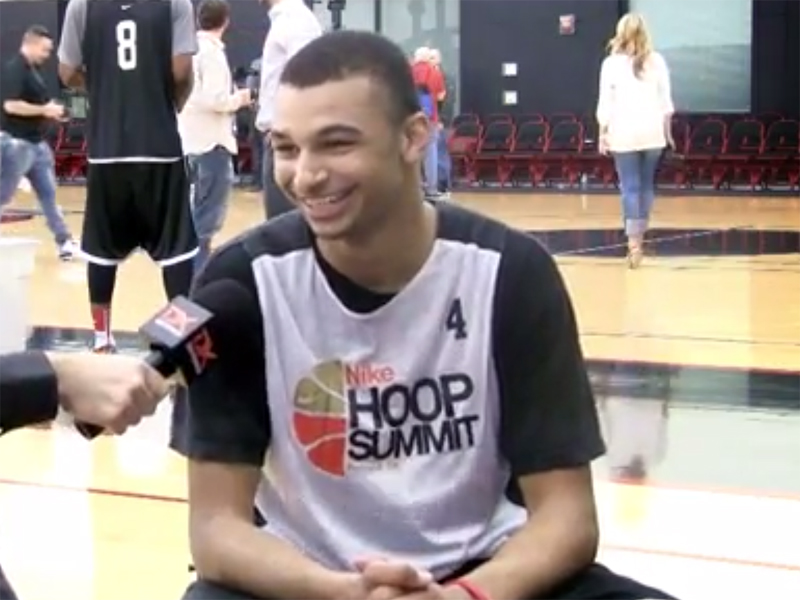 2014 Nike Hoop Summit Video Interview: Damien Inglis, Jamal Murray