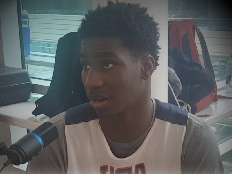 2017 Jaren Jackson Nike Hoop Summit Interview and Practice Highlights