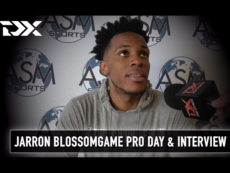 Jaron Blossomgame ASM Sports Pro Day Workout and Interview