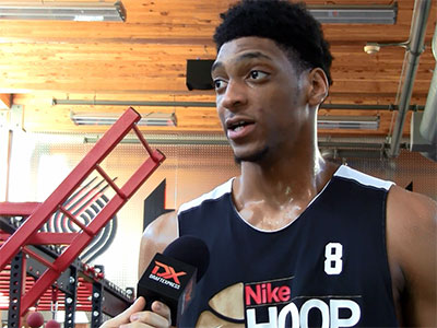 2016 Nike Hoop Summit Interviews: Justin Jackson + Will McDowell-White
