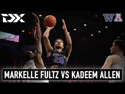 Markelle Fultz vs Kadeem Allen Matchup Video