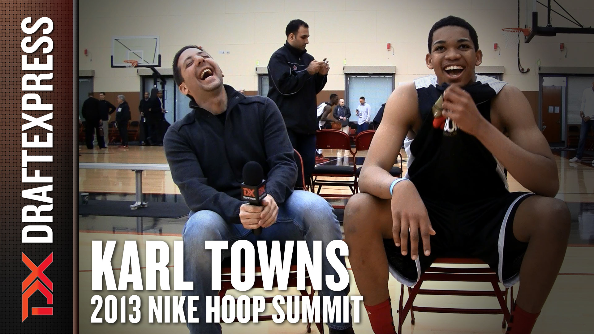 DX Vault: Karl Towns Interview from the 2013 Nike Hoop Summit