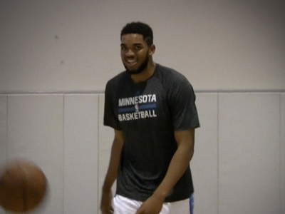 Karl-Anthony Towns Offseason Workout Video