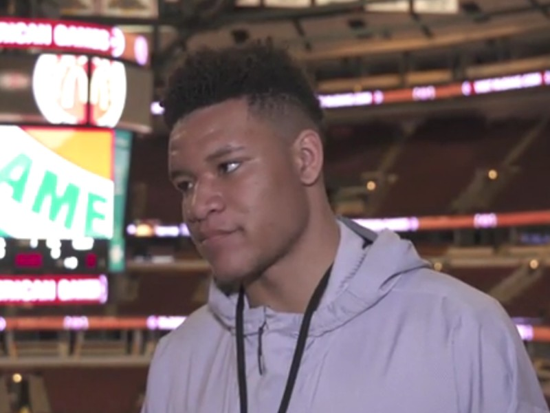Kevin Knox McDonald's All-American Interview and Practice Highlights