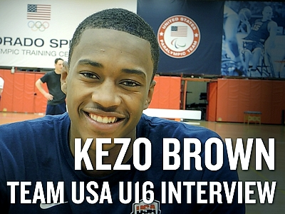 USA Basketball U16 Training Camp Interviews (Part One)