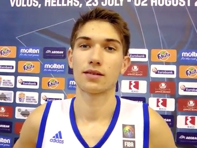 Killian Tillie 2015 FIBA U18 European Championship Interview