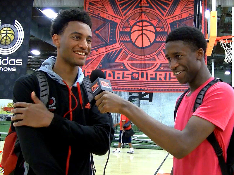 2014 adidas Nations Interview: Braxton Blackwell