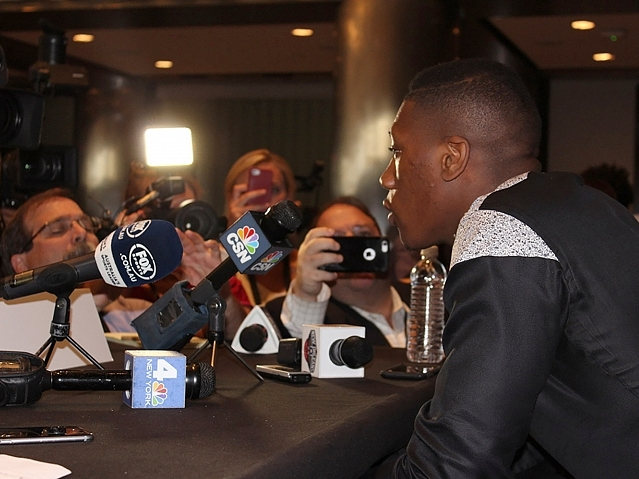 NBA Draft Media Day Interviews from New York City