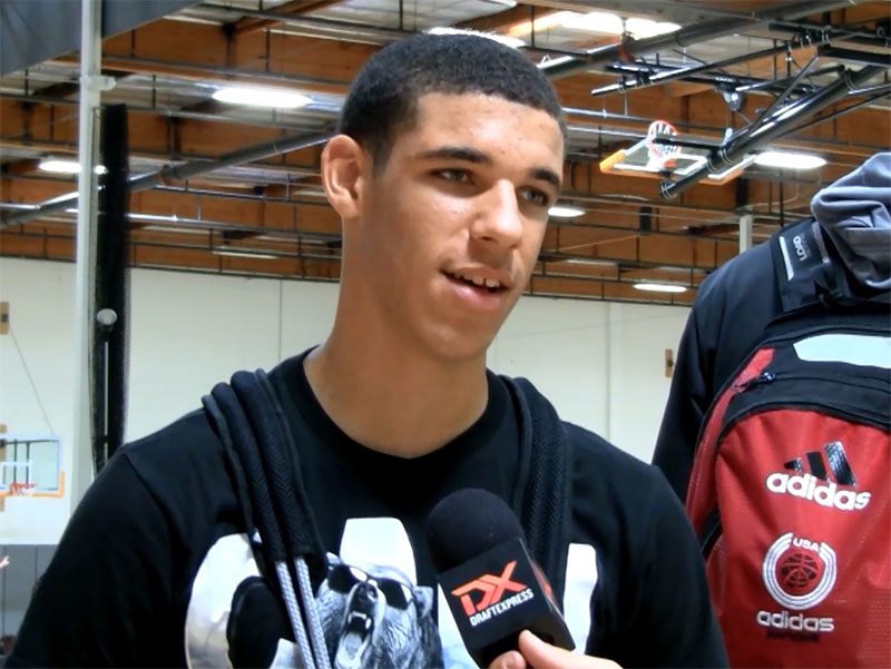 2014 adidas Nations Interview: Lonzo Ball