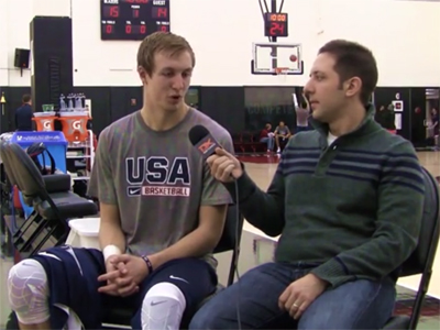 2015 Nike Hoop Summit Video Interview: Luke Kennard