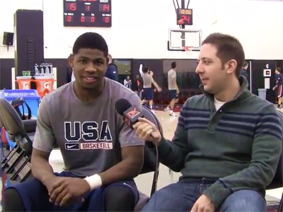 2015 Nike Hoop Summit Video Interview: Malik Newman