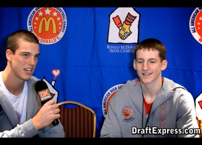 Mcdonald's All-American Interviews: Plumlees vs Zellers, Cuse Recruits