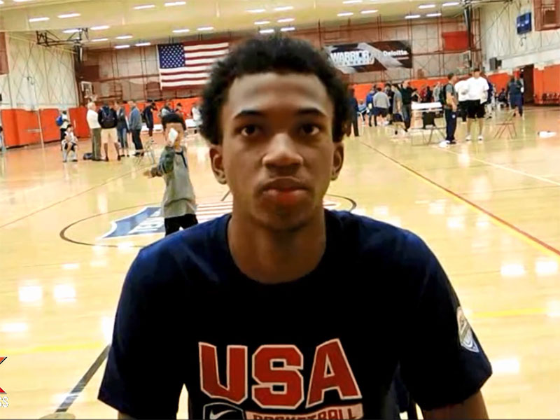 2014 USA Basketball Development Camp Interview: Marvin Bagley