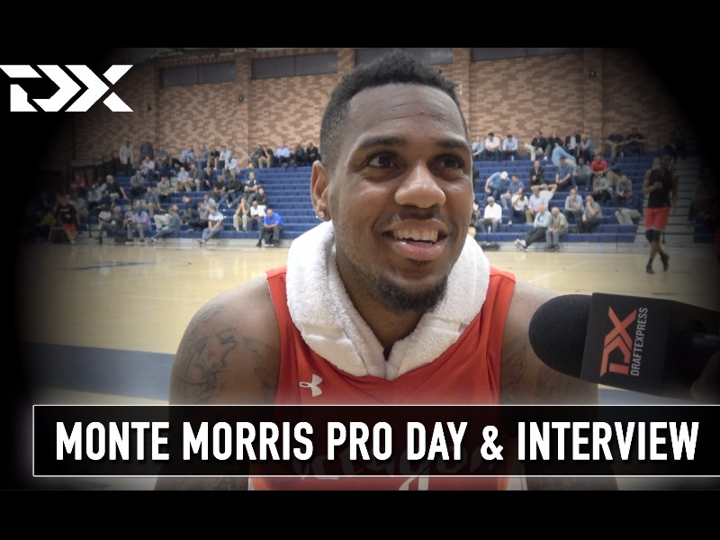Monte Morris and Peter Jok Octagon Pro Day Workout Video and Interview