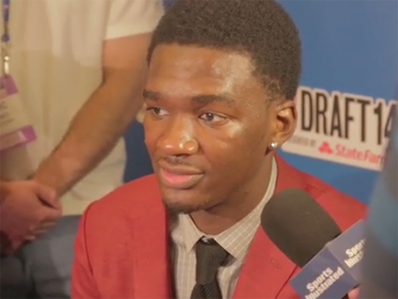 2014 NBA Draft Media Day Interviews: Vonleh, Ennis, and Napier