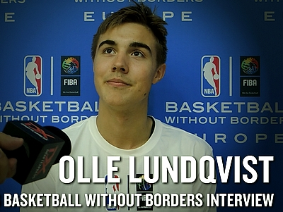 Basketball Without Borders Europe Camp Interview: Olle Lundqvist