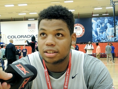 Omari Spellman USA Basketball Junior National Team Mini-Camp Interview