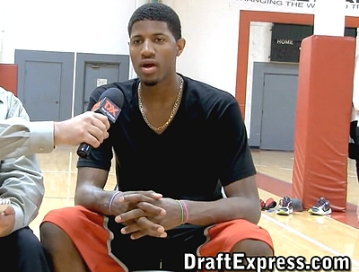 Paul George Workout and Interview