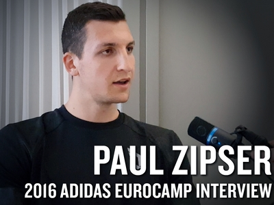 Paul Zipser 2016 Adidas Eurocamp Interview and Highlights