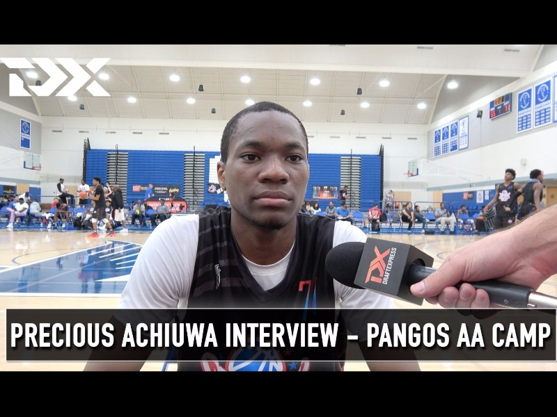 2017 Pangos All-American Camp Interviews: Achiuwa, Perry, Simons