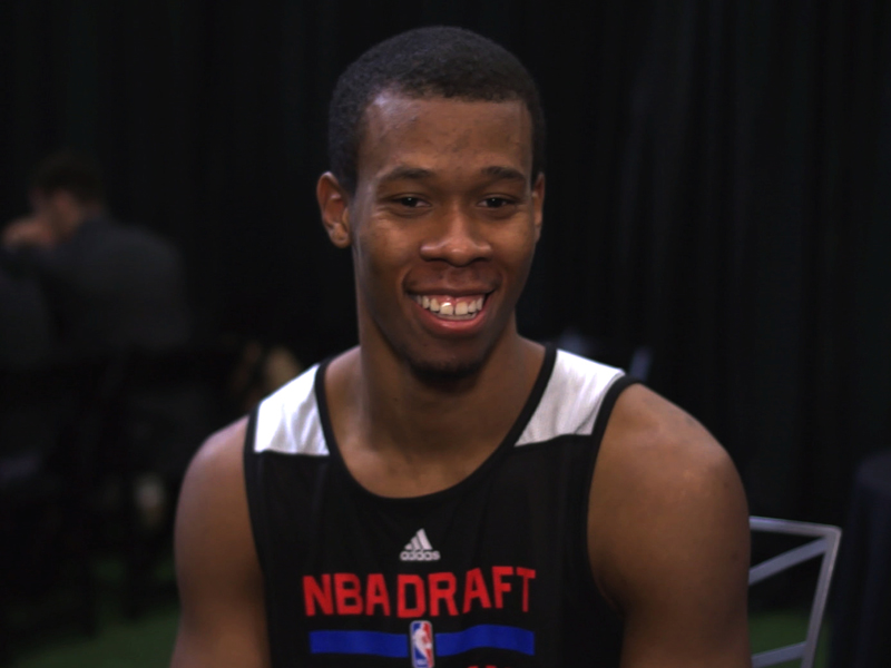 2014 NBA Combine Interviews: Rodney Hood, Russ Smith, Alex Kirk