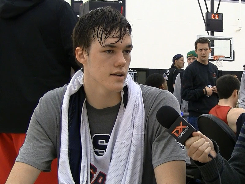 2015 Nike Hoop Summit Video Interview: Stephen Zimmerman