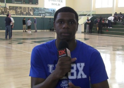 Terrence Jones Workout Interview