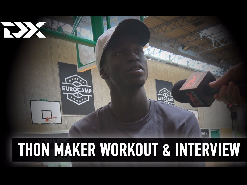 Thon Maker Workout at the Adidas EuroCamp in Treviso