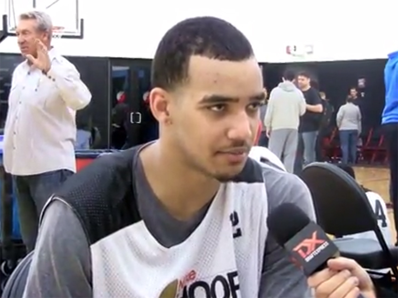 2014 Nike Hoop Summit Video Interview: Trey Lyles, James Birsen