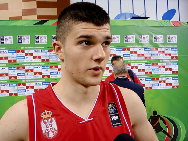 2014 U17 World Championship Interview: Vojislav Stojanovic